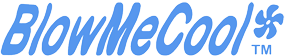 BlowMeCool mini-fan logo