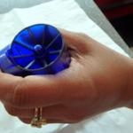 BMC Blue in hand